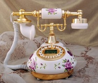 IP telephone ceramic classical phone wholesales telephone