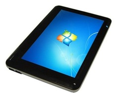New arrival 10 inch windows 7 tablet pc Wifi 3G(build-out) GPS(build-out) HD film Capacitance touch screen(China (Mainland))