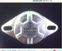 KSD306X KSD302(X)T 250V20A 140Degree Bimetal Thermostat manual reset