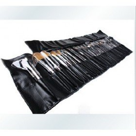 Surprise price!New 32 Pcs Makeup Brush sets with number+leather Pouch ,1pcs(China (Mainland))