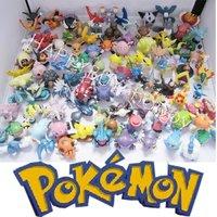20pcs Randomly Anime POKEMON Toy  PVC Figure Toy Kids Wholesale Free Shipping