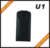 Free shipping --New high quality leather case cellphone for Sony Ericsson  U1