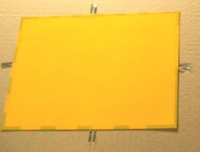 220V/YELLOW EL Panel Sheet Pad Back Light Display Backlight/ cut any design you like