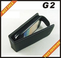 Free shipping --New high quality leather case cellphone for HTC  G2