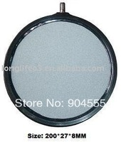 200mm diameter disk type corundum air stone,aquarium aerating, ozone diffuser  DHL,FEDEX FREE SHIPPING