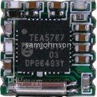 Free shipping 5pcs/package FM radio module TJ-102BC (TEA5767HN chipset) FM receiver module IIC interface