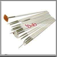 Free Shipping From USA+Hot selling!15 Nail Art Painting Pen Brush Set,5 Sets/lot-H2020