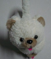 Free shipping 3pcs/bag Christmas Lovable Winter Panda/Bear ear-warm muff