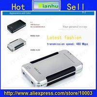 novel mini USB 2.0 external hard discs box/case,2.5 inch flash drive support SATA,sate hard disck over 2000GB,high-speed chip