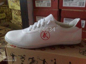 chinese taiji KungFu Wushu sports Shoes 35~47Size EUR white
