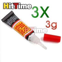 200set(3Pcs/set) 3G Plane Gas 502 Cyanoacrylate Adhesive Super Glue [3167|01|2H](China (Mainland))