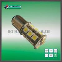Free shipping,20pcs/lot 1156-18SMD,320-400lm,3.24W LED brake bulbs/2 years warranty/CE(P21W, 7506,7507,380,1141,5007,R5W,5008)