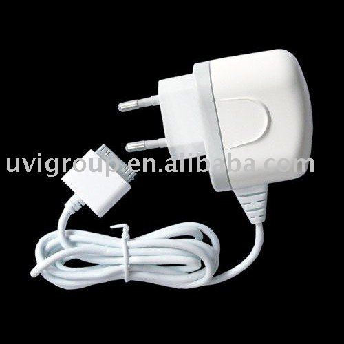 Brand New,5pcs Europe Socket Plug Home battery travel Charger for iPad,Free Shipping(China (Mainland))
