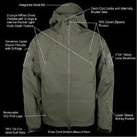 The Sierra Hooded Fleece Jacket is an outstanding product for outdoor activity