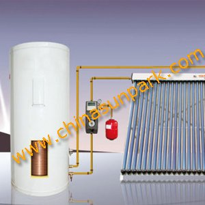 domestic solar hot water heaters system 500L of electric boiler backup(China (Mainland))