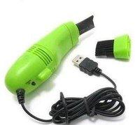 1pcs/lot  X USB Keypad Keyboard Cleaner Vacuum w/ Brush