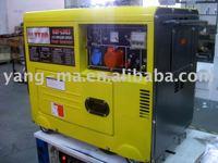 2KW-6KW yanmar type Air-cooled engine power silent electric diesel generator set