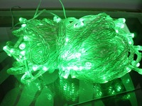 10pcs/lot 10M 100 LED String lights wedding Party Lights Christmas Lights green