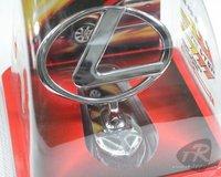 LEXUS Car Metal logo front Hood Bonnet Emblem Badge Zinc alloy electroplating 3M tape Free Shipping