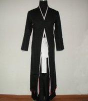 Bleach Kurosaki Ichigo Bankai Cosplay Costumes Black Size:S M, L, XL XXLFreeshipping