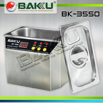 Free shipping by DHL  for 110v and 220v  BK-3550 Ultrasonic Cleaner  BAKU Brand