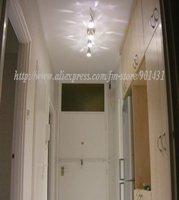 Free shipping! 10pcs/ lot. GU10 4-LED 360-Lumen 3500K Warm White Light Bulb (220V AC)