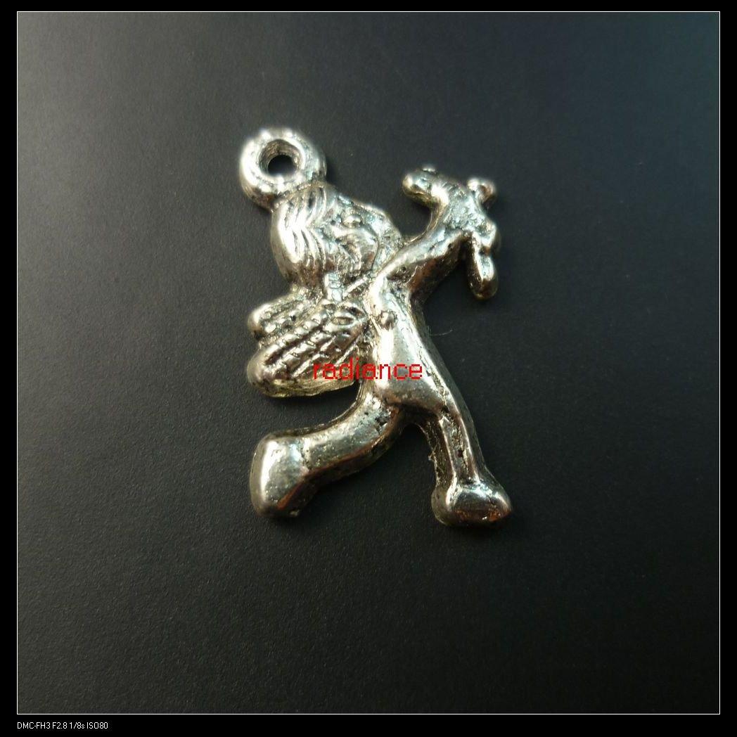 260pcs lot tibet silver Cupid pendants 19x13mm FREE SHIPPING
