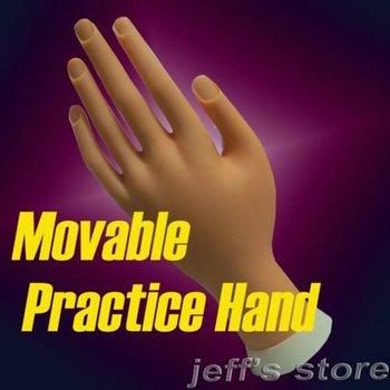 Soft Plastic Flectional Model Hand Nail Art Practice Movable Nail Art Practice Hand Nail Art Painting