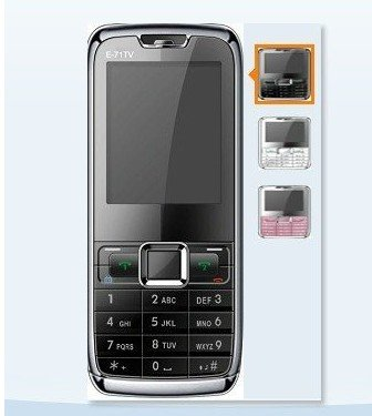 "2.2"" Dual SIM Analog TV Mobile Phone E71 with Polish language(China (Mainland))"