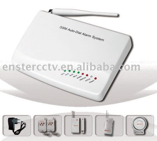 alarm monitoring,Home Security Alarm system with SMS & Auto dial ...