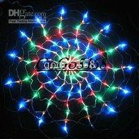 Halloween light ,10pcs/lot Color 120 LED Spider NET light for Wedding Party ,LED Christmas lights ,
