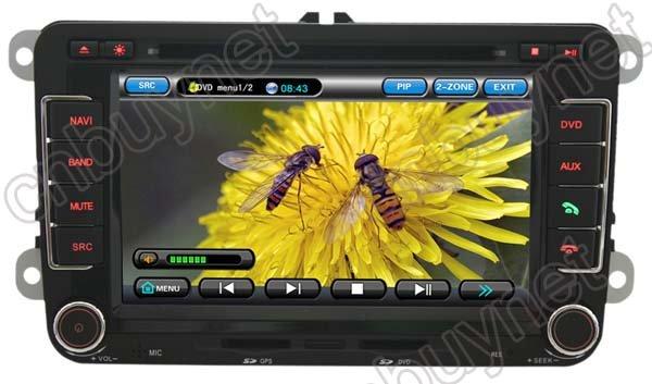 VW Passat B6 GPS Navigation DVD Player,Radio,TV,CAN BUS box(China (Mainland))