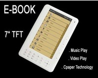 electronic book e-book reader 7 inch Ebook Reader Free shipping 720P