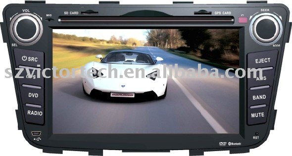 "6.2"" special car DVD GPS with Bluetooth digital touch screen for Hyundai Verna(Hong Kong)"