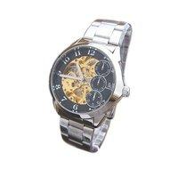 IK brand watches, gold movement, hollow, transparent, automatic mechanical Men's watch 111G