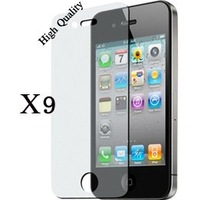 Wholesale 9Pcs/Lot Matte Anti Glare screen protector for iphone 4 4G