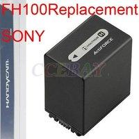 OEM Digital Camera Battery NP FH100 For HDR-SR10 SR11 SR12 DCR-SR190 SR200 Retail Packing Package Box