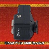 ISHOOT Wireless Flash Trigger PT-04CN III Single Receiver for Canon Nikon Pentax Olympus Metz Contax Speedlit