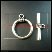 Wholesale 100 pcs/lot alloy jewelry toggle clasps Free shipping t054