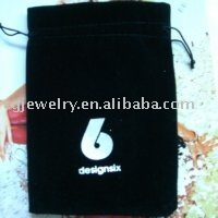Free shipping!!! Black color big size flannel gift bag (wholsale and retail)(China (Mainland))