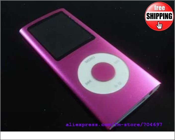10pcs Hot Sales Free shipping 2GB Slim MP4 Player 1.8 inch TFT Screen MP4 Player FM REC(China (Mainland))