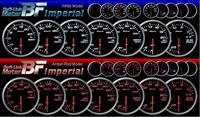 Free Shipping!Def*BF_Turbo/Boost  Auto Gauge, Racing meter, Car gauge Racing Gauge, 60mm