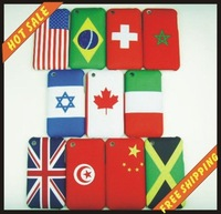 Free shipping, England National flag back cover case, world cup case for iphone 3g 3gs