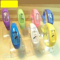 Free shipping+ 30pcs The new 036 Crescent Fashion Watch  Pop Watch  Sports Watch quartz watch!