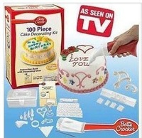 Wholesale - 20pcs Betty Crocker Cake Decorating Decorator Kit, Free Shipping