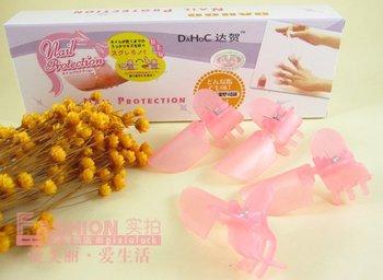 Free shipping! Nail Polish Protection Clipper Nail Art Tips 10 pcs /pack