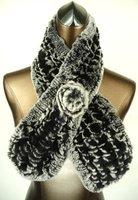 Wholesale-free shipping -fashion Rabbit fur scarf,lady's fur shawl ,Warm muffler,top quality
