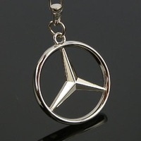 Free shipping! 3D badge/logo car keyring/keychain/keychains/key chain with gift box for 20 PCS  NO 22