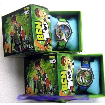 New !Ben 10  kids watch children watch (10pcs a lot )B0723