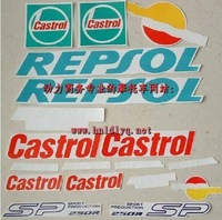SP 250 blue REPSOL takes the whole car decal posts
